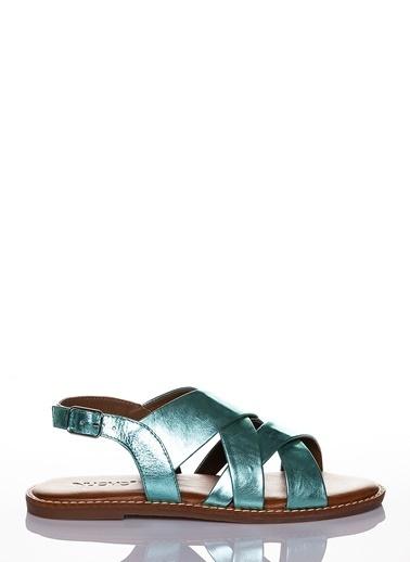 Efem Sandalet Yeşil